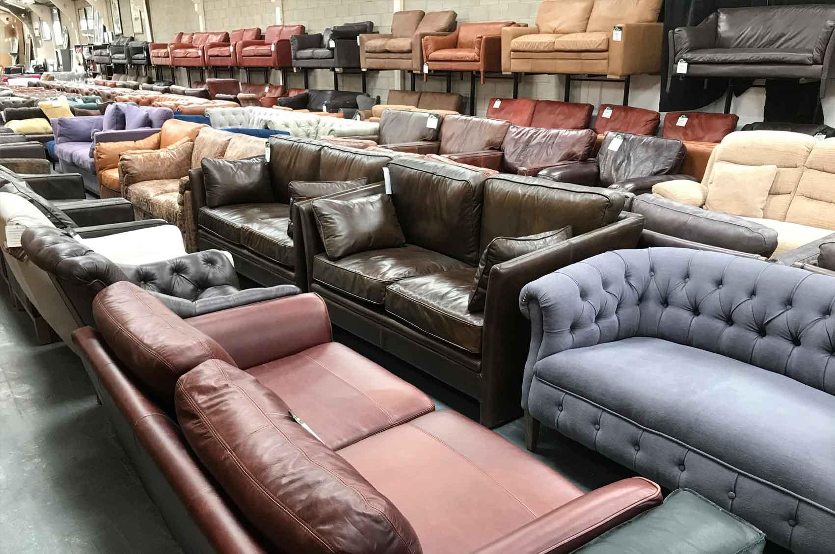 Discount designer sofas italian leather sofas designer for Design sofa outlet